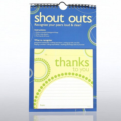 Thanks for All You Do! Peer-to-Peer Shout Outs