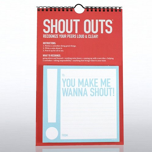 Exclamations Peer-to-Peer Shout Outs