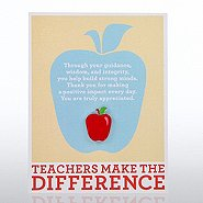 Character Pin - Teachers Make the Difference