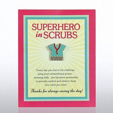 Character Pin - Superhero in Scrubs