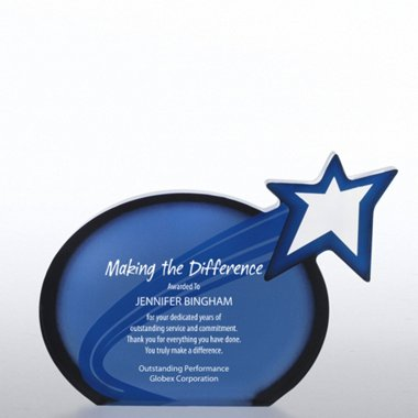 Galaxy Award Trophy - Shooting Star