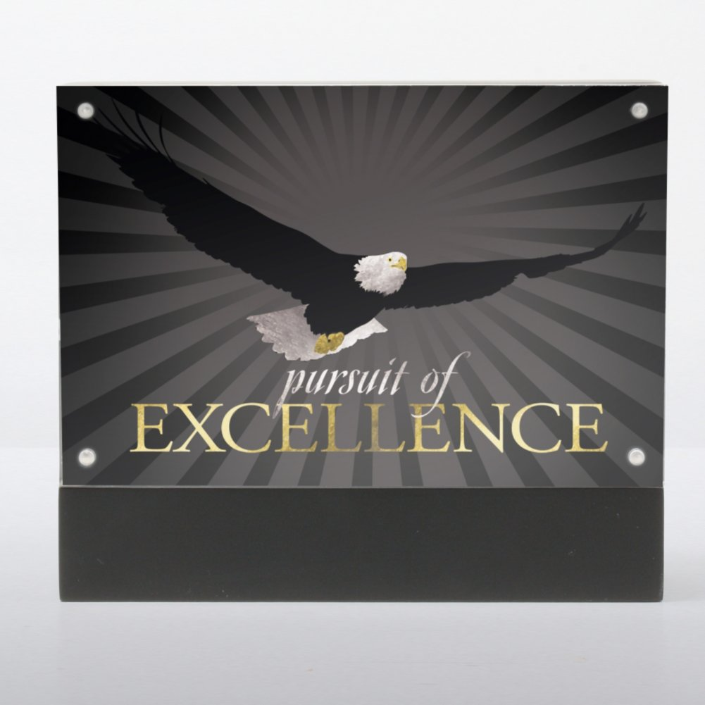 Prusuit of Excellence Photo Frame Desk Award