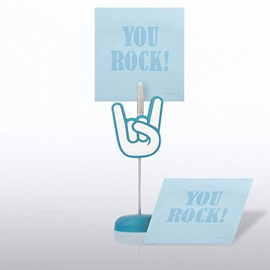 Memo Clip & Sticky Note Gift Set - Positive Praise You Rock!