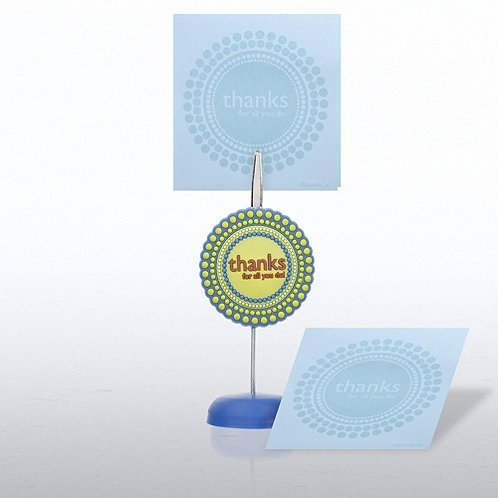Thanks for All You Do Memo Clip & Sticky Note Gift Set