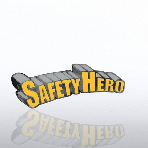 Safety Hero Lapel Pin