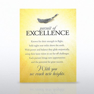 Character Pin - Eagle: Pursuit of Excellence