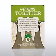 Character Pin - Growing Together