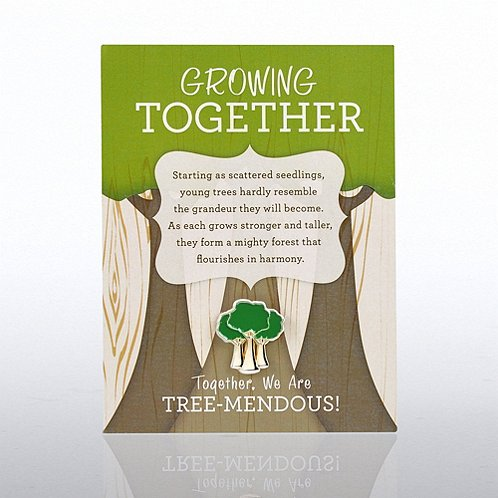 Growing Together Character Pin
