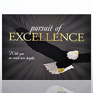 Theme Plaque - Eagle: Pursuit of Excellence