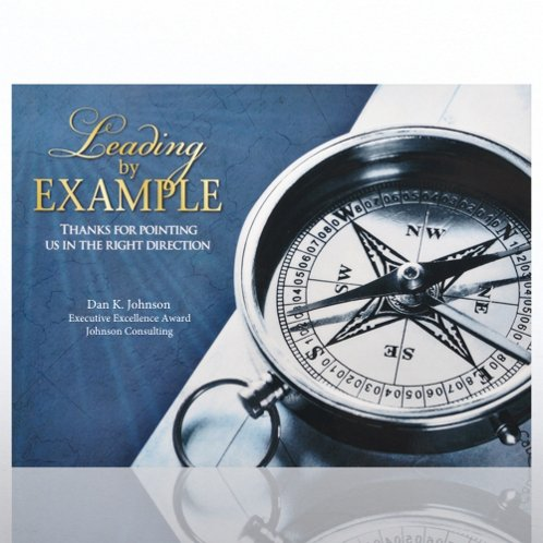 Compass: Leading by Example Theme Plaque