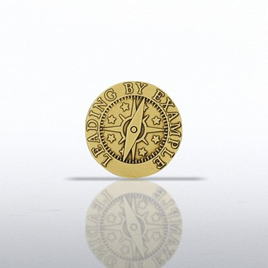 Lapel Pin - Compass - Leading by Example