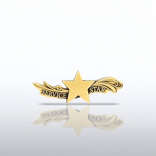 Star Dream Service Star Lapel Pin