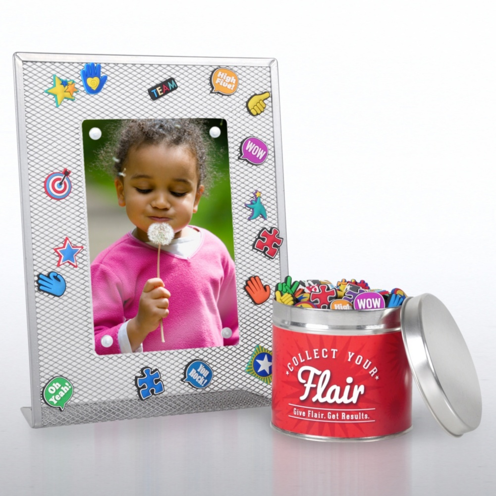 Photo of Collect Your Flair Desktop Frame Kit