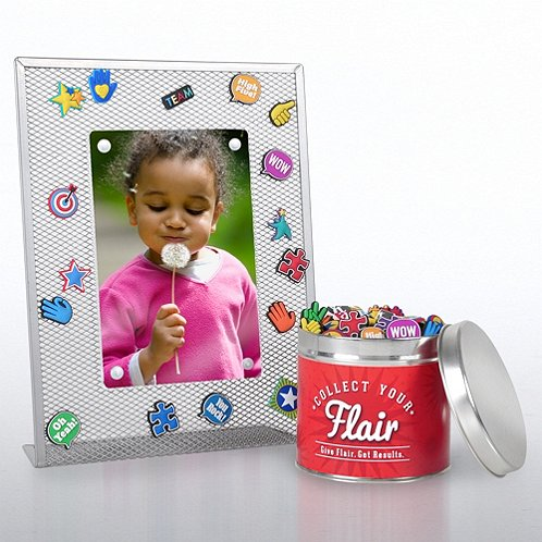 Collect Your Flair Starter Pack w/ Mesh Frames