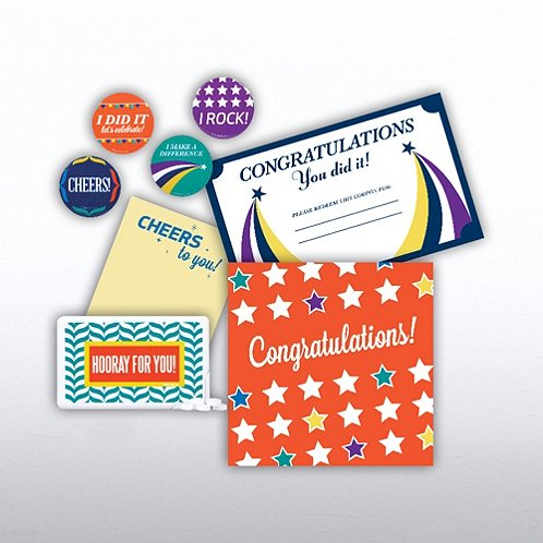Congrats Set Recognition Survival Kit