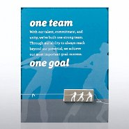 Character Pin - One Team, One Goal