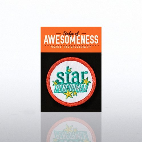 Star Performer Badges of Greatness