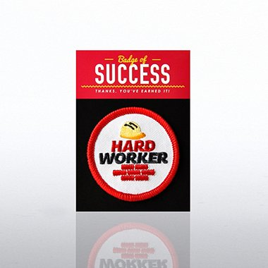 Badges of Greatness - Hard Worker