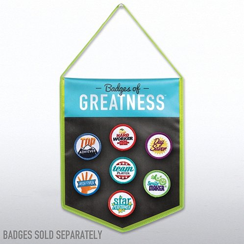 Badges of Greatness Collector Banner