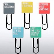 Jumbo Paper Clips - Exclamations