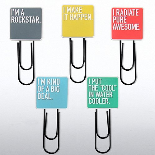 Exclamations Jumbo Paper Clips