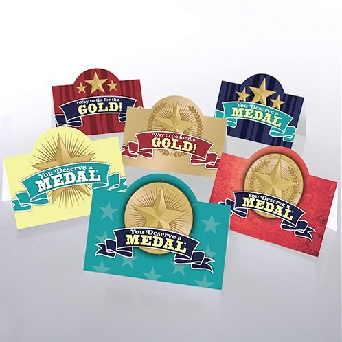 You Deserve a Medal Pop-Up Pocket Praise