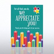 Character Pin - We Appreciate You Stars