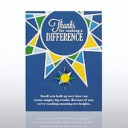 Character Pin - Thanks for Making a Difference