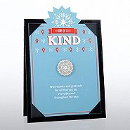 Character Pin with Presentation Board - Snowflake