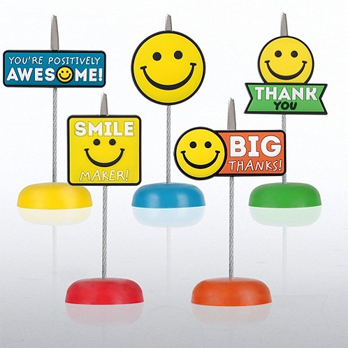 Positively Awesome PVC Memo Clip Pack