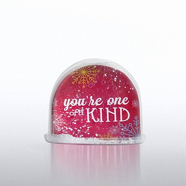 Snow Globe Photo Frame - Snowflake: You're One of a Kind