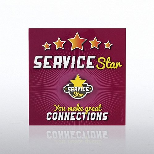 Service Star Magnets of Success