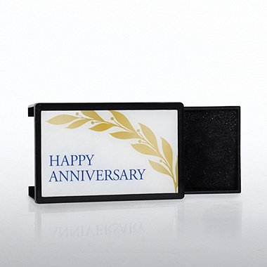 Lapel Pin Presentation Box - Happy Anniversary