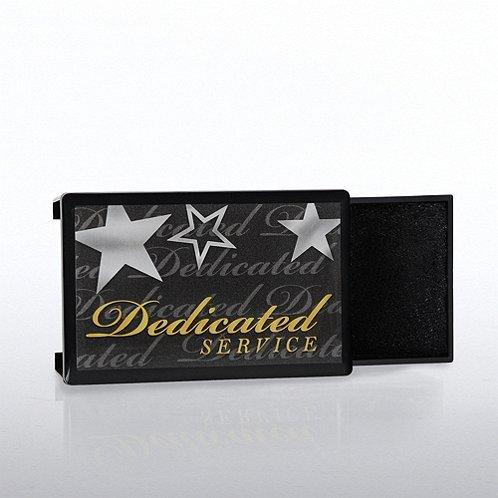 Dedicated Service Lapel Pin Presentation Box