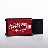 Lapel Pin Presentation Box - You Are Truly Appreciated