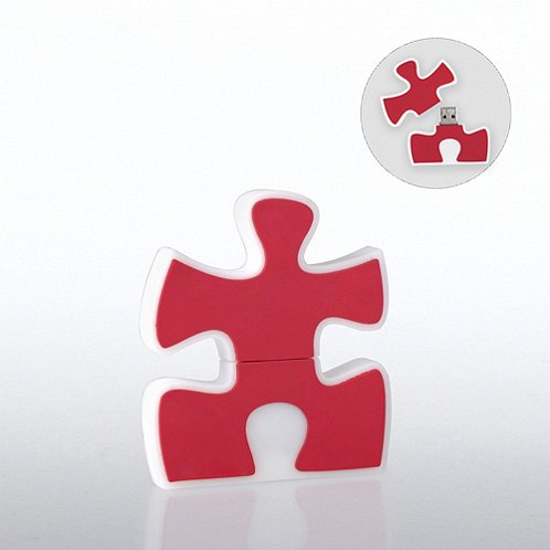 Essential Piece Fun Shapes USB Drive