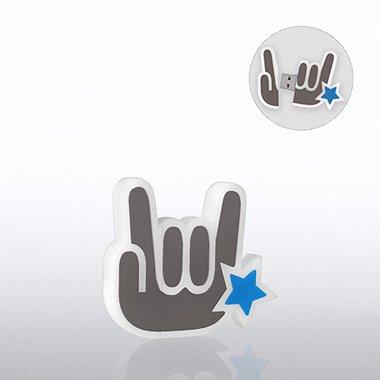 Fun Shapes USB Drive - You Rock