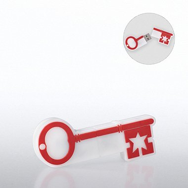 Fun Shapes USB Drive - Key to Success
