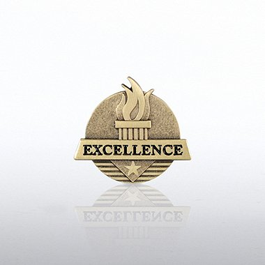Lapel Pin - Excellence Flame