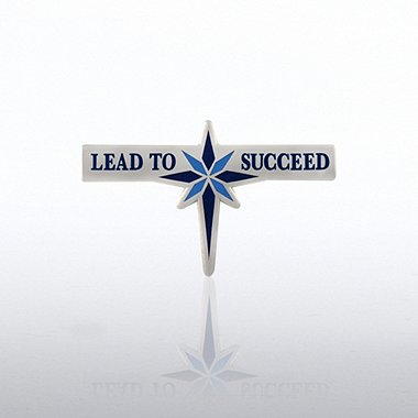 Lapel Pin - Lead To Succeed