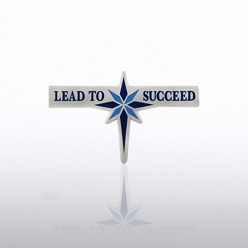 Lead To Succeed Lapel Pin