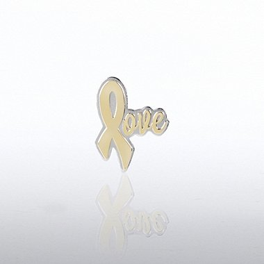 Lapel Pin - Love Ribbon