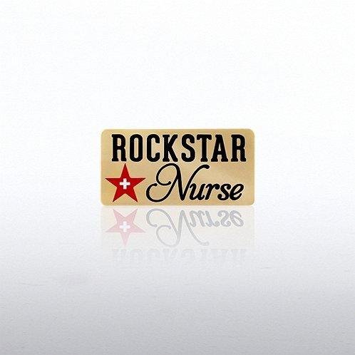 Rock Star Nurse Lapel Pin