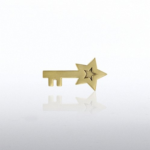 Star Key Lapel Pin