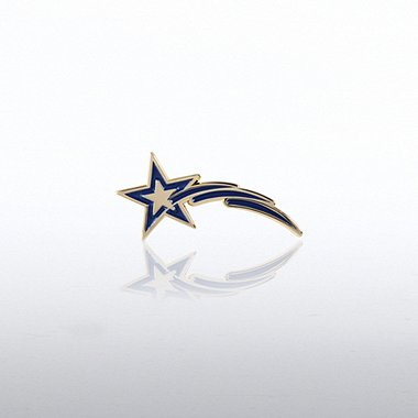 Lapel Pin - Star Tails