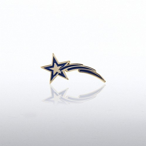 Star Tails Lapel Pin