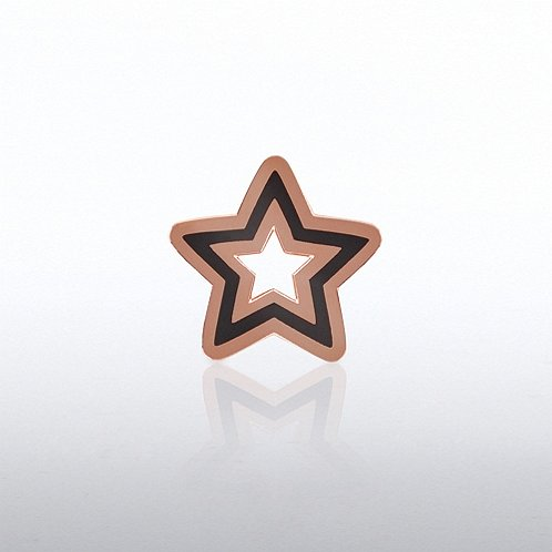 Copper Star Lapel Pin