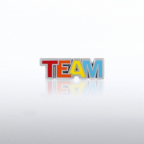 Team Colors Lapel Pin