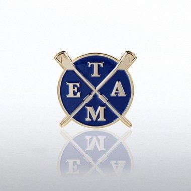 Lapel Pin - Team Rowing