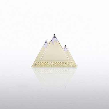 Lapel Pin - High Achiever Mountain